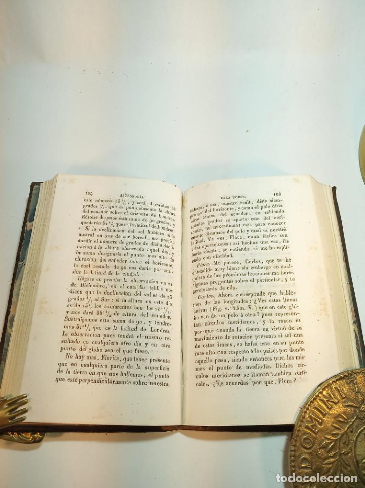 Libros antiguos: Astronomía para todos en doce lecciones. D. José Ciganal y Angulo. Gerona. 1829. Oficina de A. Oliva - Foto 5 - 192783413