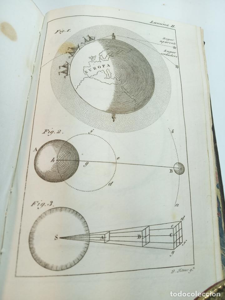Libros antiguos: Astronomía para todos en doce lecciones. D. José Ciganal y Angulo. Gerona. 1829. Oficina de A. Oliva - Foto 7 - 192783413
