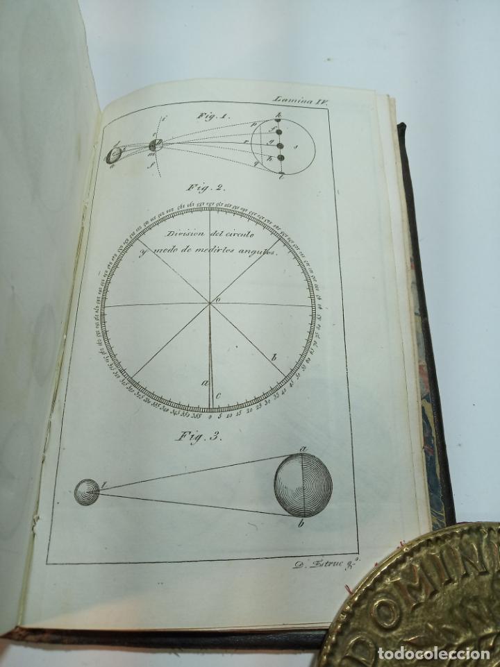 Libros antiguos: Astronomía para todos en doce lecciones. D. José Ciganal y Angulo. Gerona. 1829. Oficina de A. Oliva - Foto 8 - 192783413