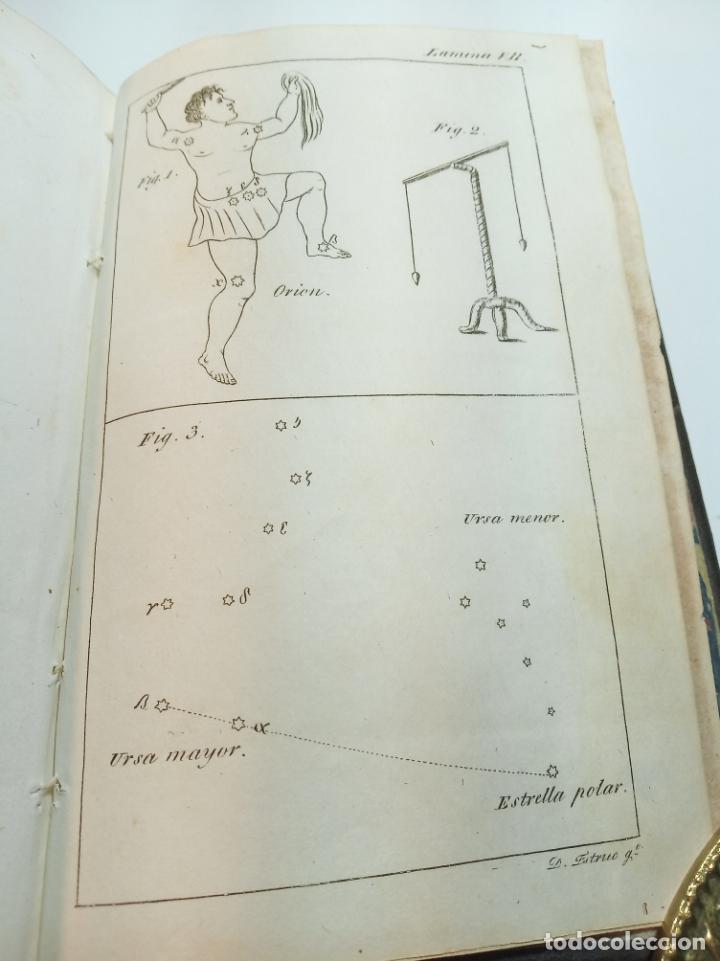 Libros antiguos: Astronomía para todos en doce lecciones. D. José Ciganal y Angulo. Gerona. 1829. Oficina de A. Oliva - Foto 9 - 192783413