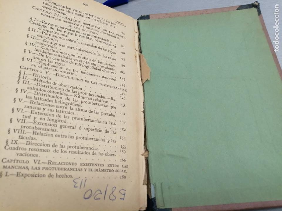 Libros antiguos: EL SOL / TOMO II / P. A. SECCHI S. J. / AÑO 1879 - Foto 6 - 193569590