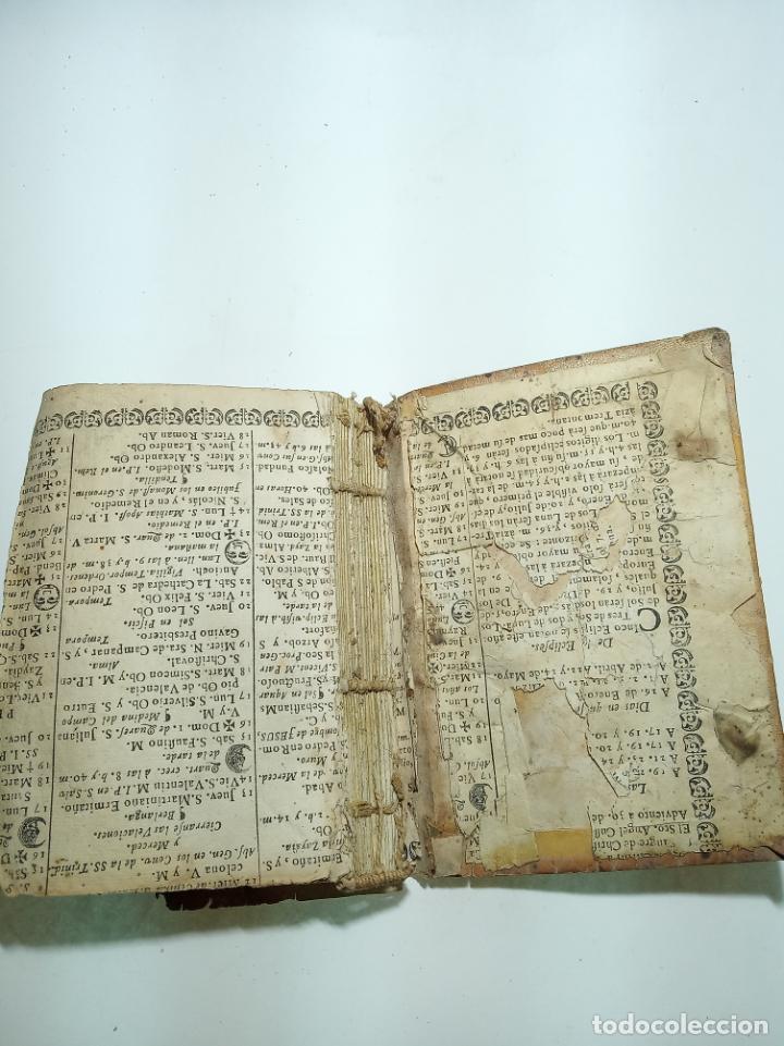 Libros antiguos: Lunario y pronóstico perpetuo, general y particular. Gerónymo Cortés. Grabados. Siglo XVIII. - Foto 12 - 193704207