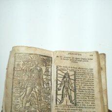 Libros antiguos: LUNARIO Y PRONÓSTICO PERPETUO, GENERAL Y PARTICULAR. GERÓNYMO CORTÉS. GRABADOS. SIGLO XVIII.. Lote 193704207