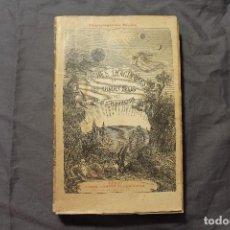 Libros antiguos: LES MONDES IMAGINAIRES ET LES MONDES RÉELS. CAMILLE FLAMMARION. TEXTO EN FRANCÉS. Lote 194493495