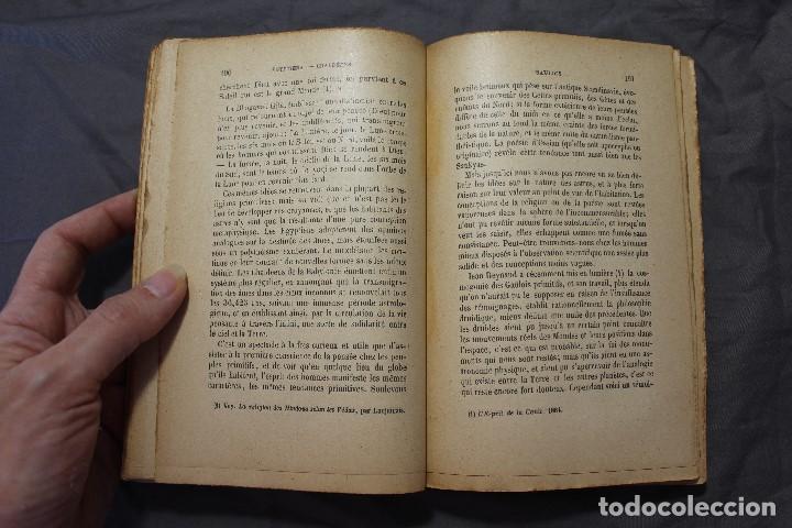 Libros antiguos: LES MONDES IMAGINAIRES ET LES MONDES RÉELS. CAMILLE FLAMMARION. TEXTO EN FRANCÉS - Foto 2 - 194493495