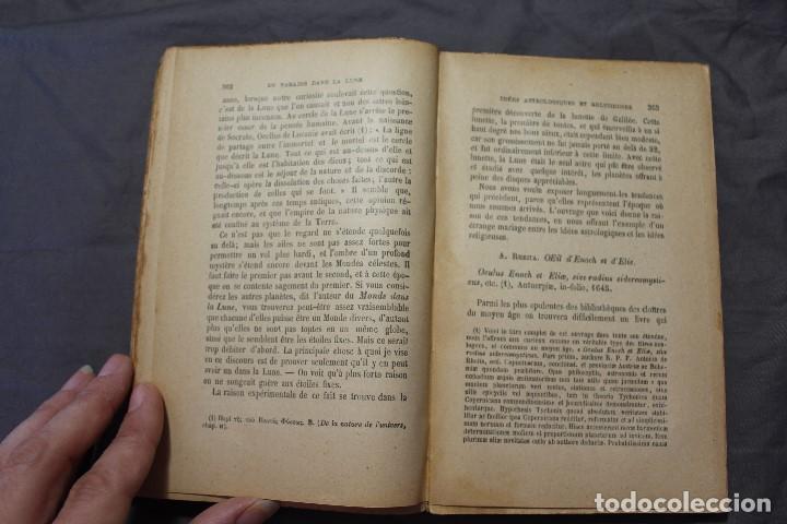 Libros antiguos: LES MONDES IMAGINAIRES ET LES MONDES RÉELS. CAMILLE FLAMMARION. TEXTO EN FRANCÉS - Foto 4 - 194493495