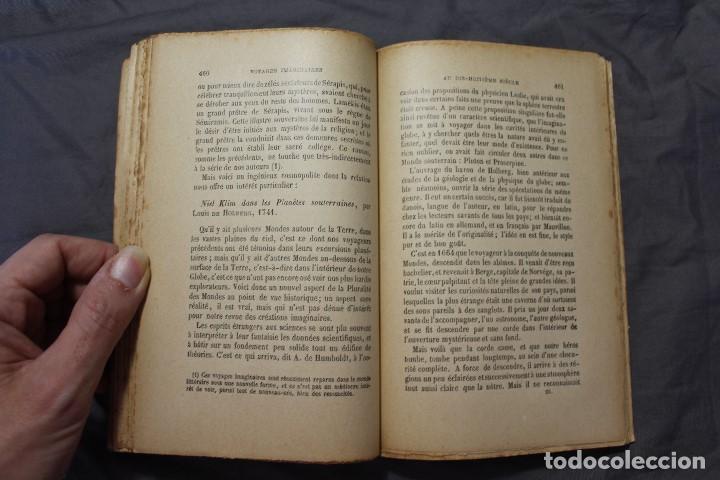 Libros antiguos: LES MONDES IMAGINAIRES ET LES MONDES RÉELS. CAMILLE FLAMMARION. TEXTO EN FRANCÉS - Foto 5 - 194493495