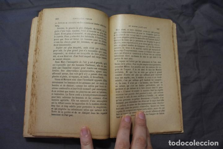 Libros antiguos: LES MONDES IMAGINAIRES ET LES MONDES RÉELS. CAMILLE FLAMMARION. TEXTO EN FRANCÉS - Foto 6 - 194493495