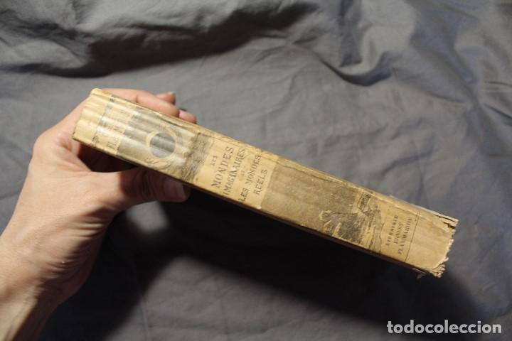 Libros antiguos: LES MONDES IMAGINAIRES ET LES MONDES RÉELS. CAMILLE FLAMMARION. TEXTO EN FRANCÉS - Foto 9 - 194493495