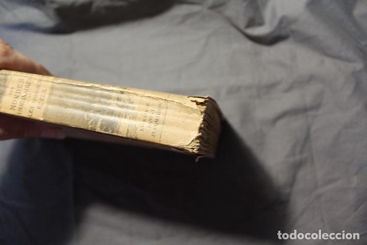 Libros antiguos: LES MONDES IMAGINAIRES ET LES MONDES RÉELS. CAMILLE FLAMMARION. TEXTO EN FRANCÉS - Foto 10 - 194493495