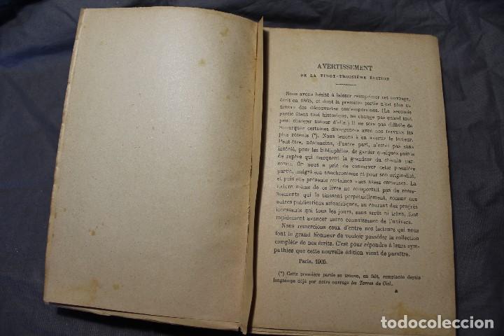 Libros antiguos: LES MONDES IMAGINAIRES ET LES MONDES RÉELS. CAMILLE FLAMMARION. TEXTO EN FRANCÉS - Foto 14 - 194493495