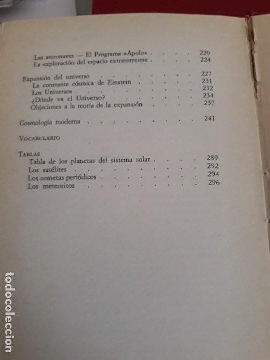 Libros antiguos: Planetas y estrellas. Manual de Astronomia Moderna. 1977 - Foto 6 - 194568706
