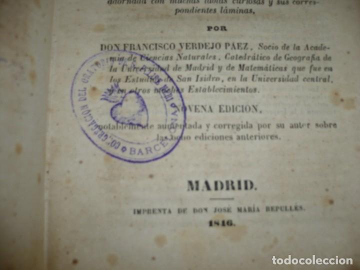Libros antiguos: PRINCIPIOS DE GEOGRAFIA ASTRONOMICA FISICA Y POLITICA FRANCISCO VERDEJO PAEZ 1846 MADRID - Foto 4 - 194640992