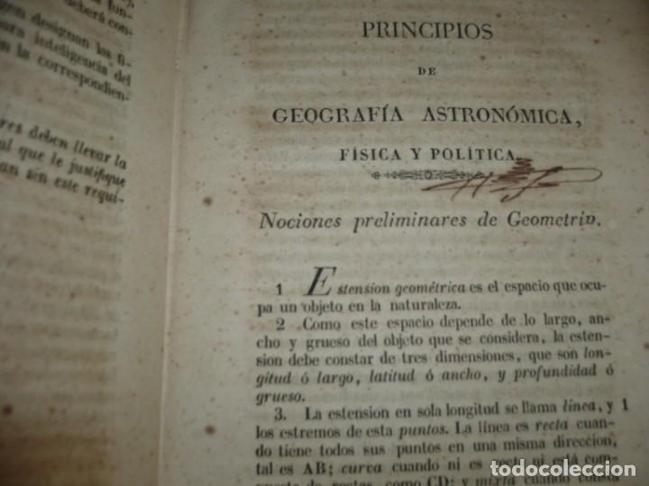 Libros antiguos: PRINCIPIOS DE GEOGRAFIA ASTRONOMICA FISICA Y POLITICA FRANCISCO VERDEJO PAEZ 1846 MADRID - Foto 5 - 194640992