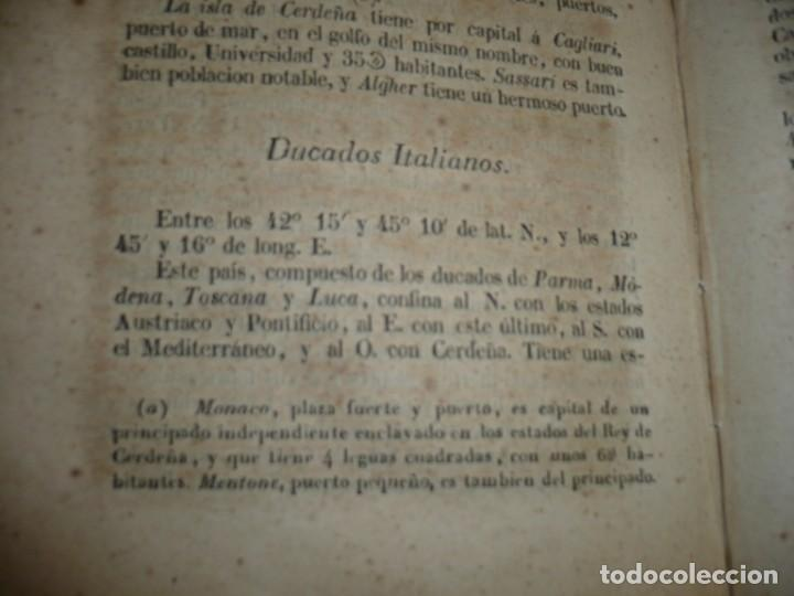 Libros antiguos: PRINCIPIOS DE GEOGRAFIA ASTRONOMICA FISICA Y POLITICA FRANCISCO VERDEJO PAEZ 1846 MADRID - Foto 6 - 194640992