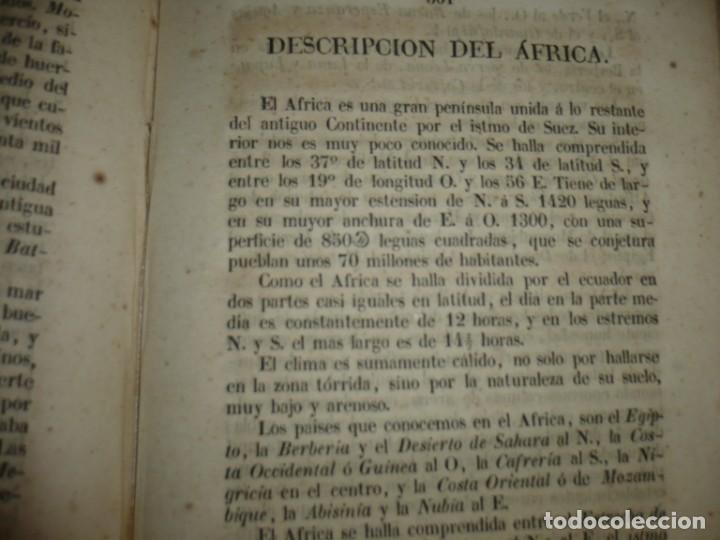 Libros antiguos: PRINCIPIOS DE GEOGRAFIA ASTRONOMICA FISICA Y POLITICA FRANCISCO VERDEJO PAEZ 1846 MADRID - Foto 8 - 194640992