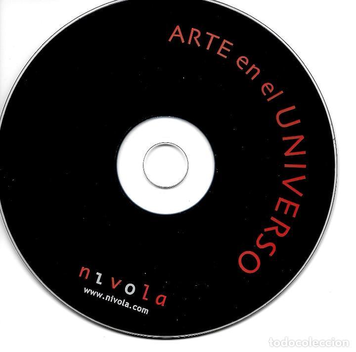 Libros antiguos: ARTE EN EL UNIVERSO (TAPA DURA - INCLUYE CD) - Foto 2 - 195158968
