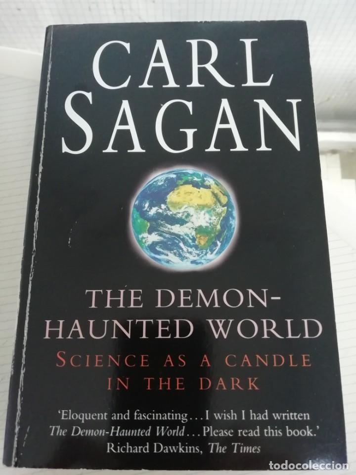 CARL SAGAN THE DEMON HAUNTED WORLD, EN INGLÉS (Libros Antiguos, Raros y Curiosos - Ciencias, Manuales y Oficios - Astronomía)