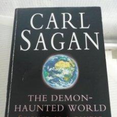 Libros antiguos: CARL SAGAN THE DEMON HAUNTED WORLD, EN INGLÉS. Lote 195672396