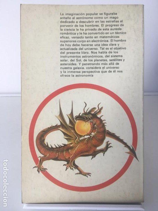 Libros antiguos: VENTA DE LIBROS A ELEGIR DE ASTRONOMÍA Y ESPACIO - Foto 7 - 197087742