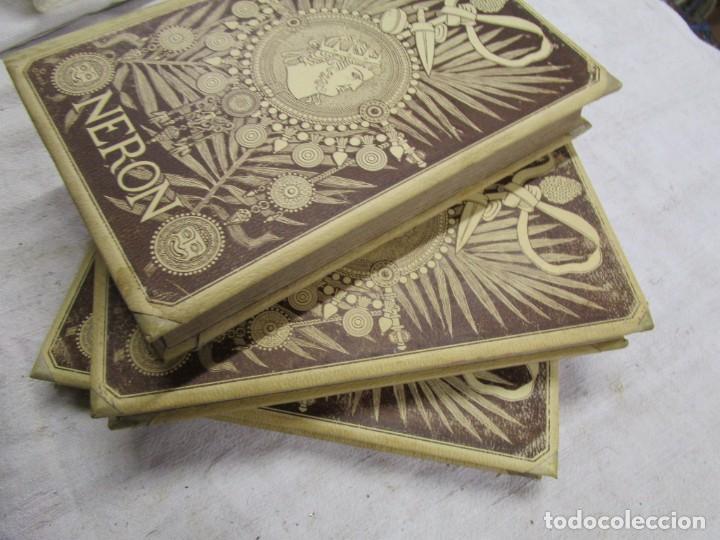 Libros antiguos: NERÓN, ESTUDIO HISTÓRICO - EMILIO CASTELAR -EDI MONTANER Y SIMÓN1891/93 3 TOMOS + INFO - Foto 2 - 198605972