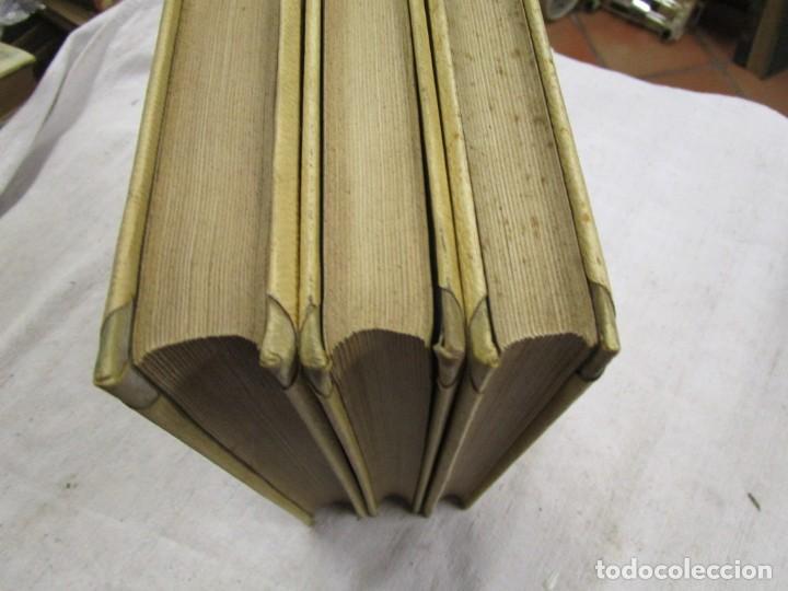 Libros antiguos: NERÓN, ESTUDIO HISTÓRICO - EMILIO CASTELAR -EDI MONTANER Y SIMÓN1891/93 3 TOMOS + INFO - Foto 3 - 198605972