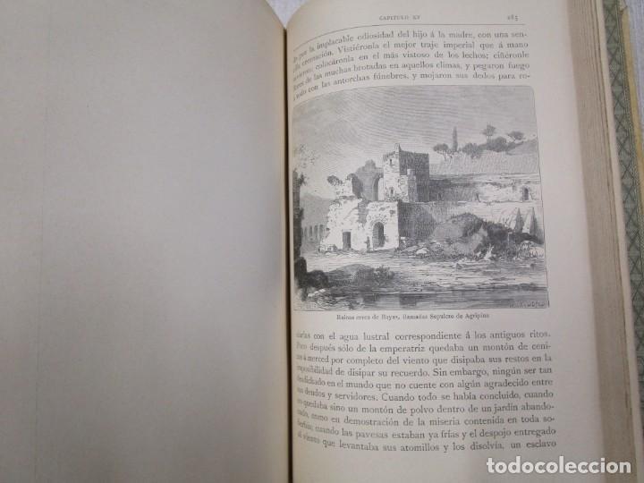 Libros antiguos: NERÓN, ESTUDIO HISTÓRICO - EMILIO CASTELAR -EDI MONTANER Y SIMÓN1891/93 3 TOMOS + INFO - Foto 11 - 198605972