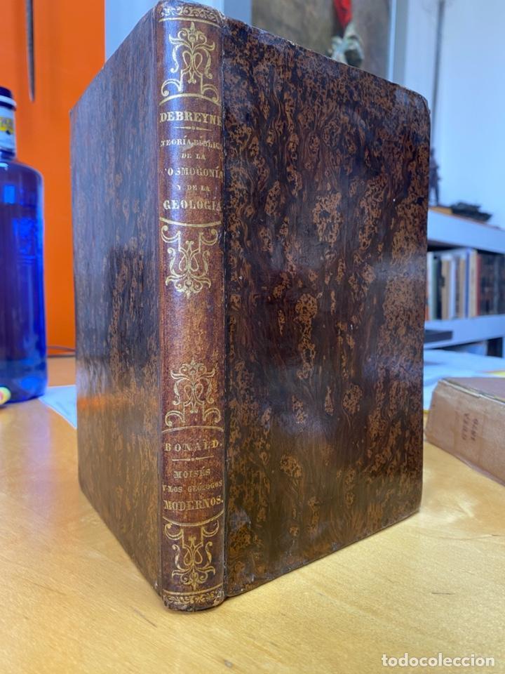 AÑO 1854.- TEORÍA BIBLICA DE LA COSMOGONÍA Y DE LA GEOLOGÍA. DEBREYNE. COSMOLOGÍA. (Libros Antiguos, Raros y Curiosos - Ciencias, Manuales y Oficios - Astronomía)