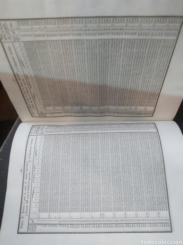 Libros antiguos: Colección completa de Tablas para los usos de la navegación y astronomía náutica. MENDOZA. 1850 - Foto 5 - 204181575
