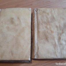 Libros antiguos: 2 LIBROS PIEL 1824. Lote 204526992