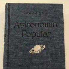 Libros antiguos: ASTRONOMÍA POPULAR.. Lote 204647856