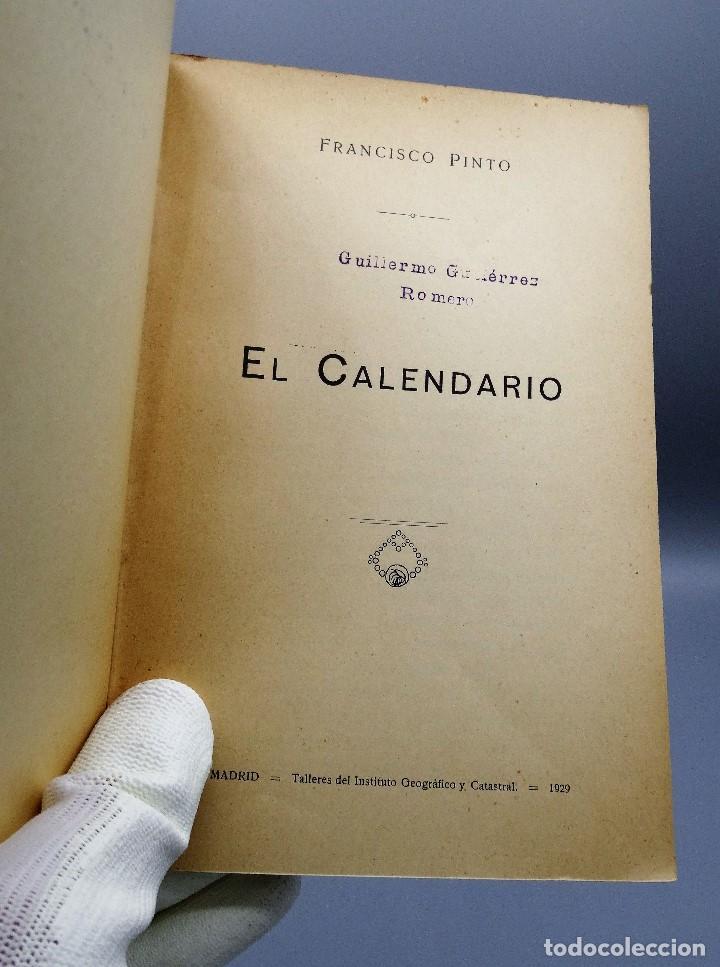 Libros antiguos: El Calendario Francisco Pinto Comité Nacional de Astrologia 1929 - Foto 2 - 204672531