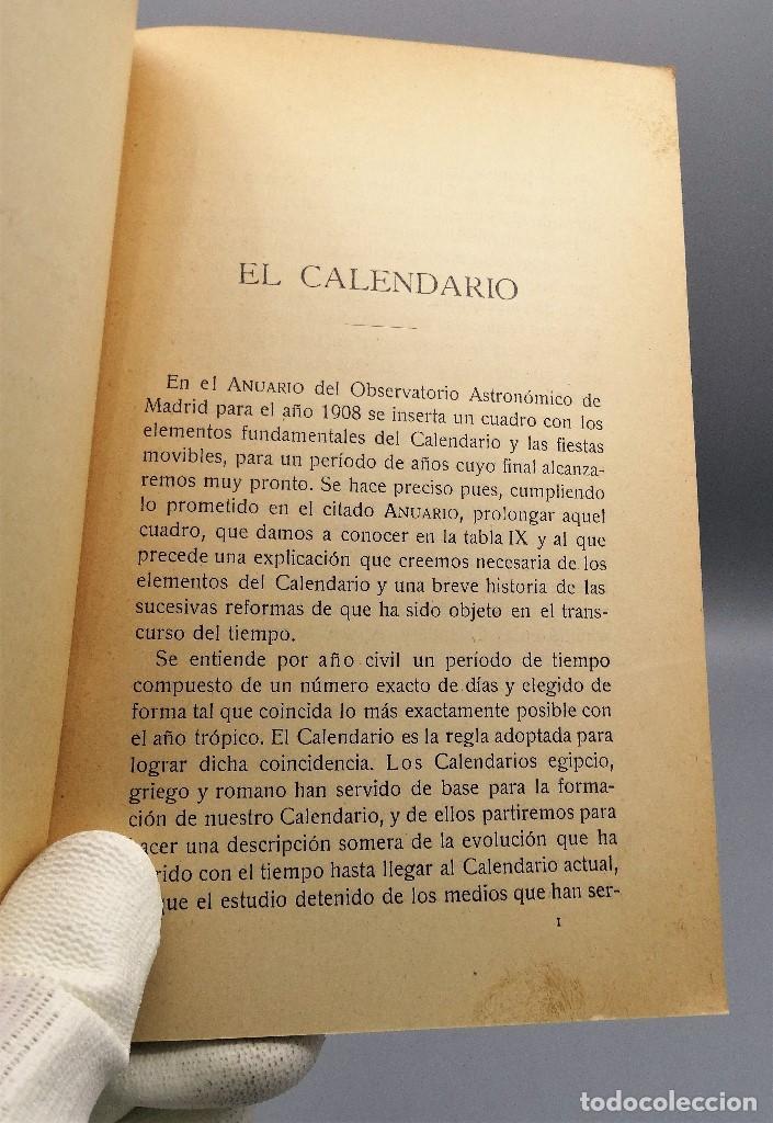 Libros antiguos: El Calendario Francisco Pinto Comité Nacional de Astrologia 1929 - Foto 3 - 204672531