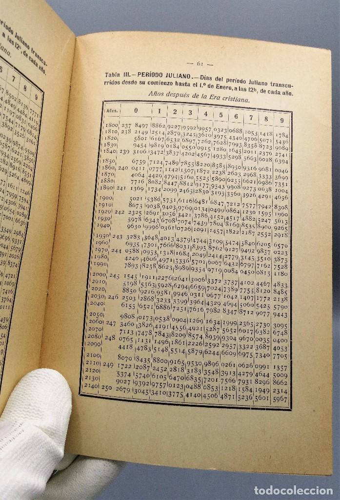 Libros antiguos: El Calendario Francisco Pinto Comité Nacional de Astrologia 1929 - Foto 4 - 204672531