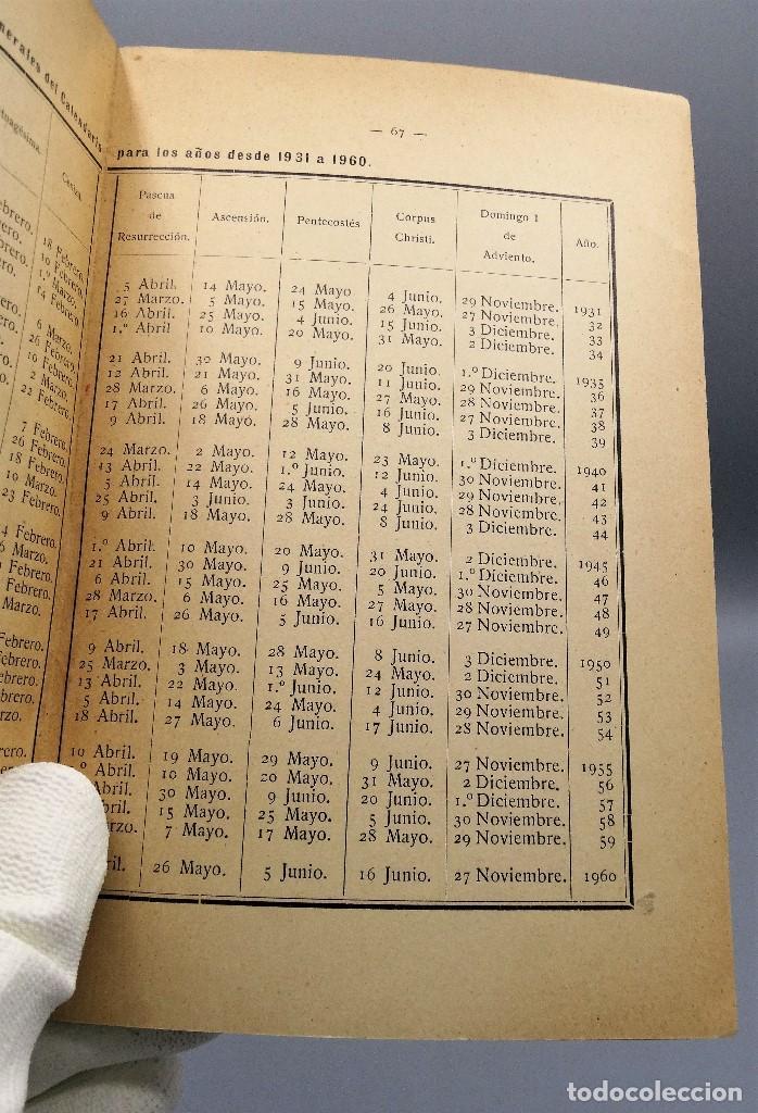 Libros antiguos: El Calendario Francisco Pinto Comité Nacional de Astrologia 1929 - Foto 5 - 204672531