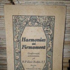 Libros antiguos: HARMONIES DEL FIRMAMENT. Lote 204765651