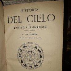 Libros antiguos: HISTORIA DEL CIELO. Lote 205844150