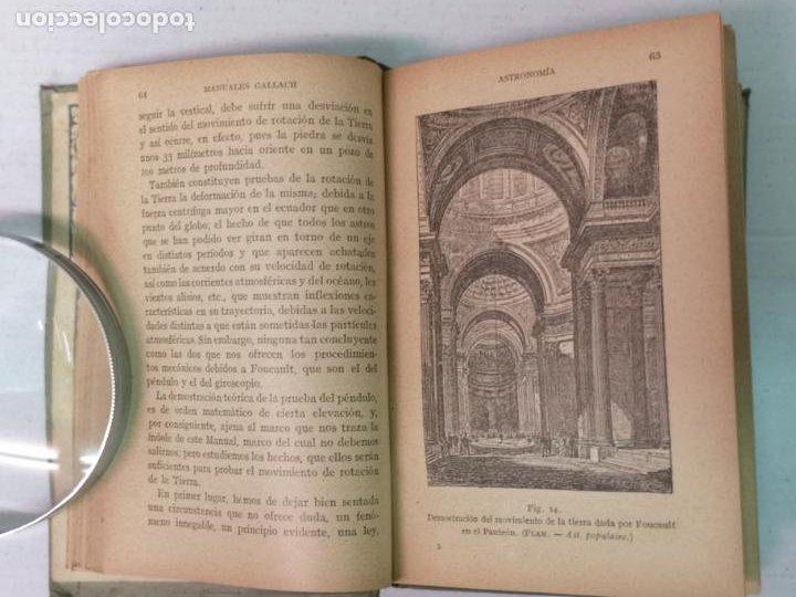 Libros antiguos: ASTRONOMÍA JOSÉ COMAS SOLA MANUALES GALLACH - Foto 7 - 206312501
