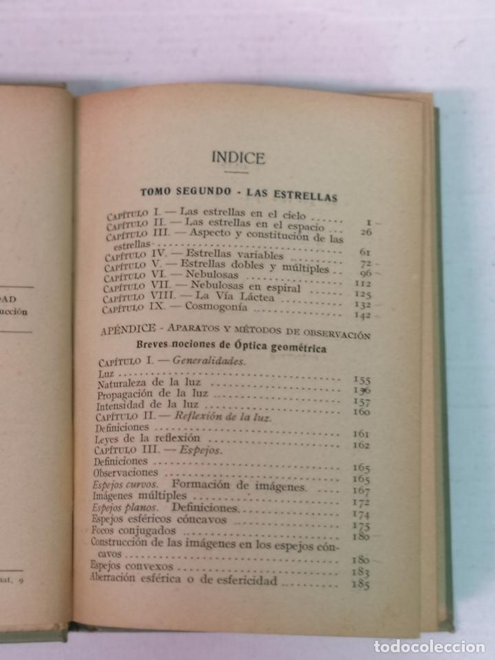 Libros antiguos: ASTRONOMÍA JOSÉ COMAS SOLA MANUALES GALLACH - Foto 12 - 206312501