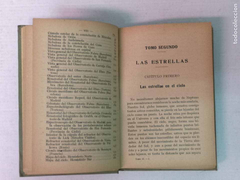 Libros antiguos: ASTRONOMÍA JOSÉ COMAS SOLA MANUALES GALLACH - Foto 14 - 206312501