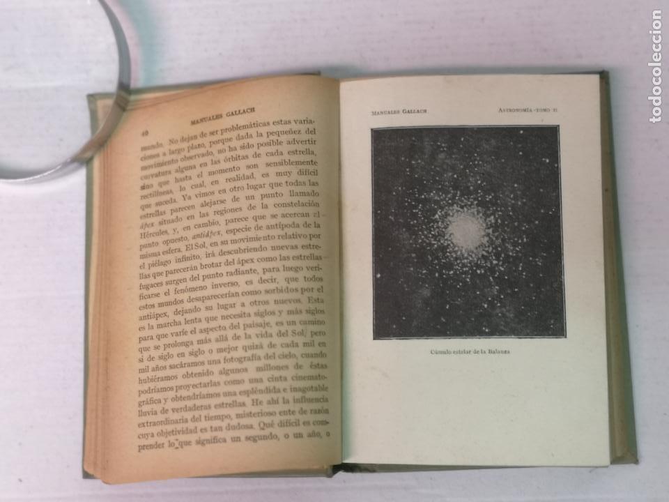 Libros antiguos: ASTRONOMÍA JOSÉ COMAS SOLA MANUALES GALLACH - Foto 15 - 206312501