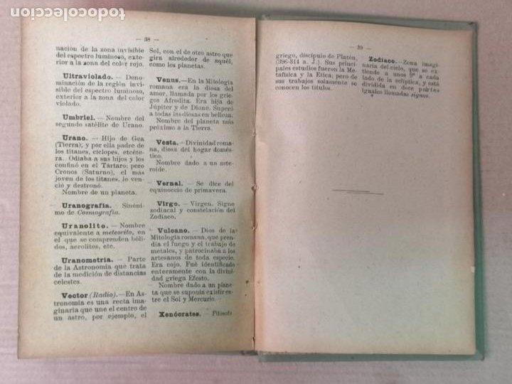 Libros antiguos: ASTRONOMÍA JOSÉ COMAS SOLA MANUALES GALLACH - Foto 19 - 206312501