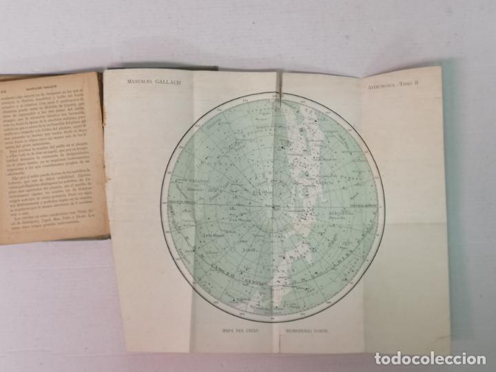 Libros antiguos: ASTRONOMÍA JOSÉ COMAS SOLA MANUALES GALLACH - Foto 22 - 206312501
