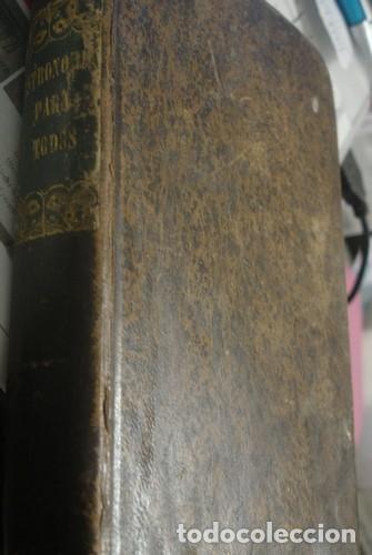 Libros antiguos: ASTRONOMIA PARA TODOS EN DOCE LECCIONES - OLIVA IMPRESOR 1829 GERONA - Foto 2 - 206320485