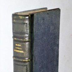 Libros antiguos: COURS ÉLÈMENTAIRE D´ASTRONOMIE. Lote 208203626