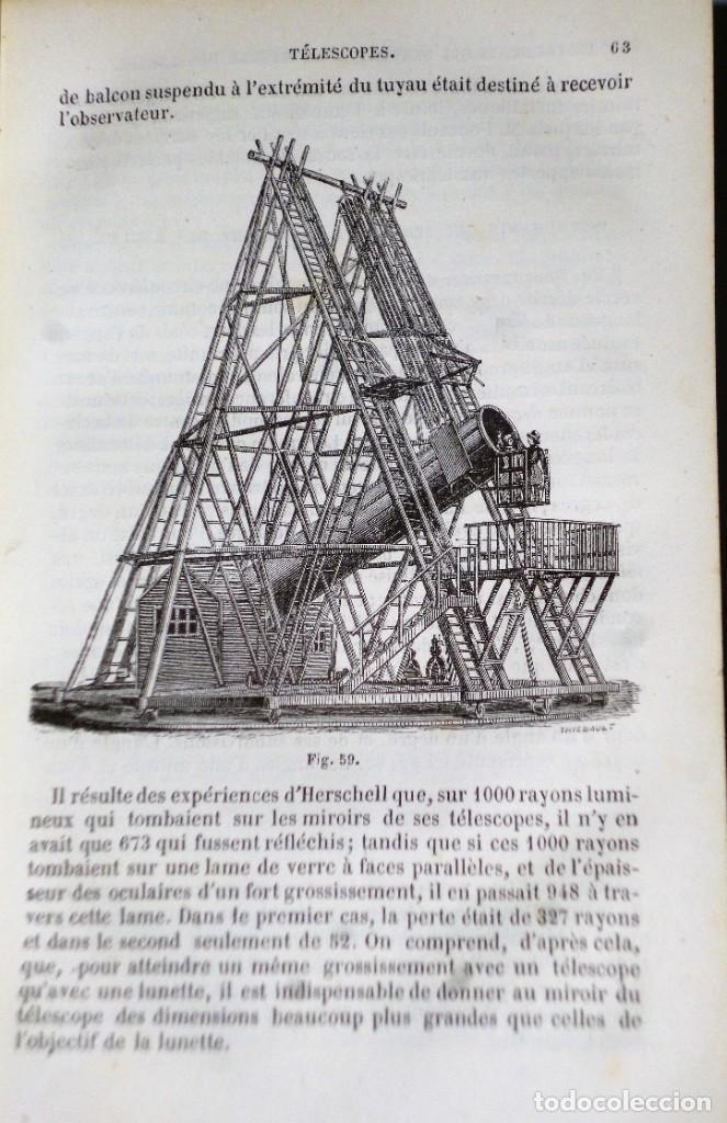 Libros antiguos: COURS ÉLÈMENTAIRE D´ASTRONOMIE - Foto 3 - 208203626