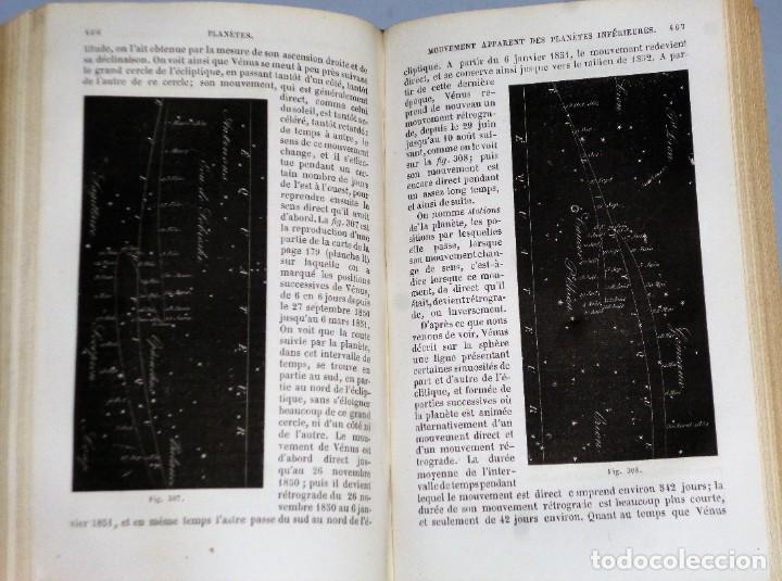 Libros antiguos: COURS ÉLÈMENTAIRE D´ASTRONOMIE - Foto 7 - 208203626