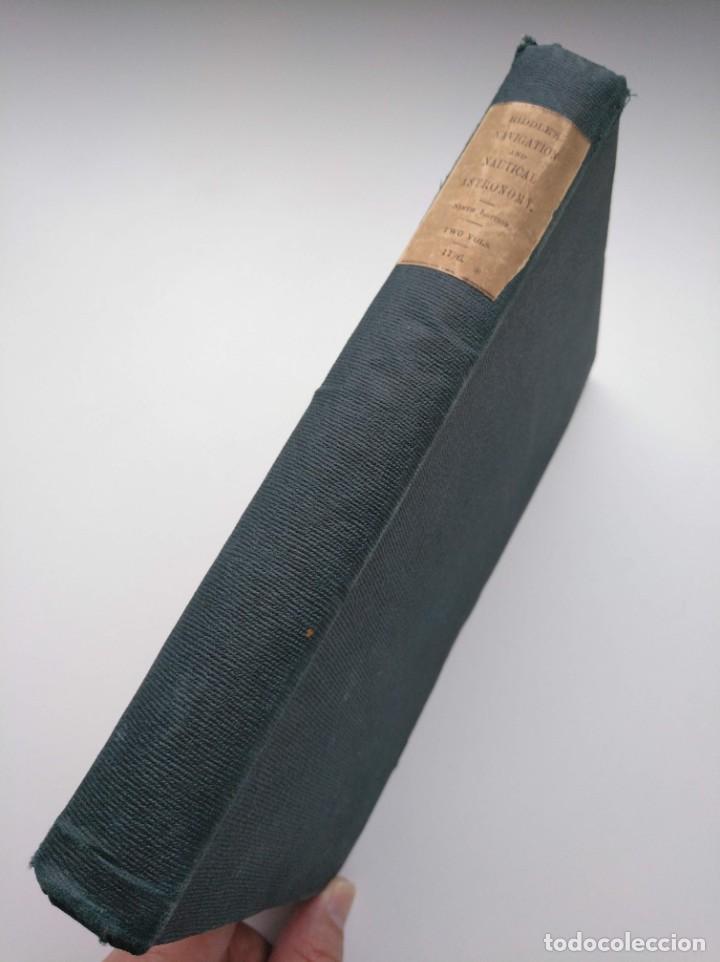 Libros antiguos: TRATADO DE NAVEGACIÓN Y ASTRONOMÍA NÁUTICA (1871) - NAVIGATION AND NAUTICAL ASTRONOMY - JOHN RIDDLE - Foto 2 - 208290083