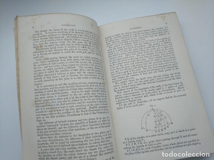Libros antiguos: TRATADO DE NAVEGACIÓN Y ASTRONOMÍA NÁUTICA (1871) - NAVIGATION AND NAUTICAL ASTRONOMY - JOHN RIDDLE - Foto 4 - 208290083