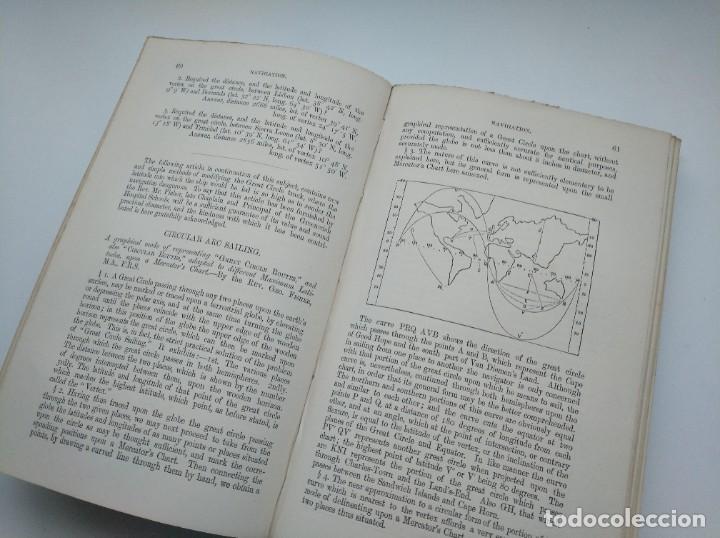 Libros antiguos: TRATADO DE NAVEGACIÓN Y ASTRONOMÍA NÁUTICA (1871) - NAVIGATION AND NAUTICAL ASTRONOMY - JOHN RIDDLE - Foto 6 - 208290083